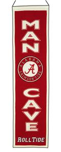 Winning Streak NCAA Alabama Man Cave Banner