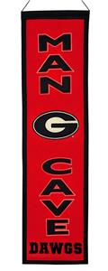 Winning Streak NCAA Georgia Man Cave Banner