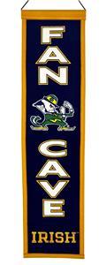Winning Streak NCAA Notre Dame Fan Cave Banner