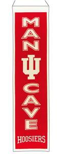 Winning Streak NCAA Indiana Man Cave Banner