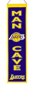 Winning Streak NBA LA Lakers Man Cave Banner