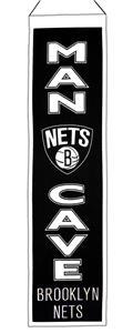 Winning Streak NBA Brooklyn Nets Man Cave Banner