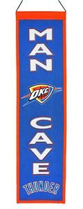 Winning Streak NBA OKC Thunder Man Cave Banner