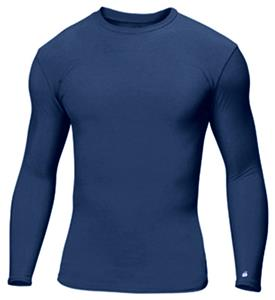 Badger Youth B-Fit L/S Crew Compression Shirts