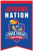 Winning Streak NCAA Kansas Fan Nations Banner