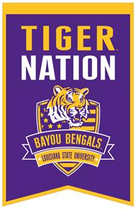 Winning Streak NCAA LSU Fan Nations Banner