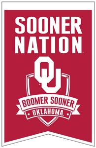 Winning Streak NCAA Oklahoma Fan Nations Banner