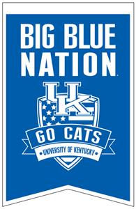 Winning Streak NCAA Kentucky Fan Nations Banner