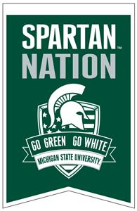 Winning Streak NCAA Michigan St Fan Nations Banner
