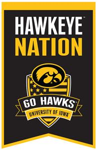 Winning Streak NCAA Iowa Fan Nations Banner
