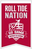 Winning Streak NCAA Alabama Fan Nations Banner