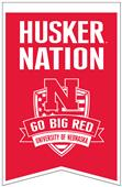 Winning Streak NCAA Nebraska Fan Nations Banner