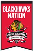 Winning Streak NHL Blackhawks Fan Nations Banner