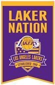 Winning Streak NBA LA Lakers Fan Nations Banner