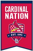Winning Streak MLB Cardinals Fan Nations Banner