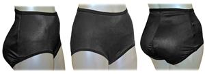 Padded Bottom Booty Booster Girdle Brief-Closeout