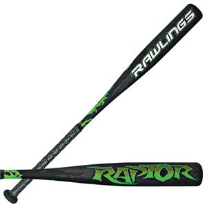Rawlings Raptor Youth Baseball Bats (-11) YBRAPW
