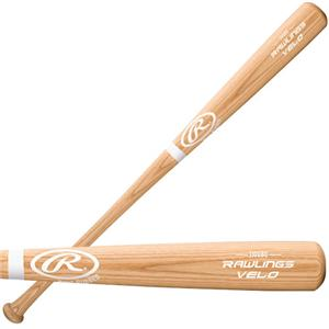 Rawlings Bone Rubbed Velo Ash Wood Baseball Bat