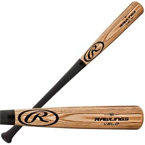 Rawlings VELO Ash Wood Youth Baseball Bats (-5)