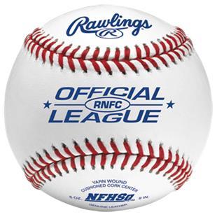 Rawlings High School Baseball NFHS Stamp RNFC