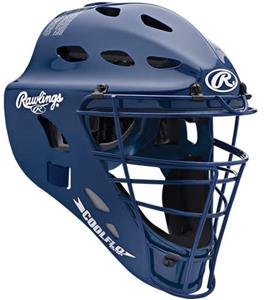 Adult Hockey Style CoolFlo Catchers Helmet CFA1JP