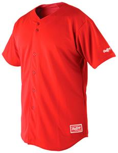 Rawlings Premium Full Button Baseball Jersey RJ140