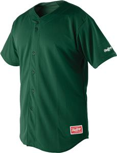 Rawlings ProDri Full Button Baseball Jersey RBJ150