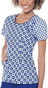 Baby Phat Next Dimension Scoop Neck Scrub Top