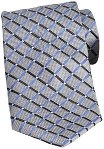 Edwards Mens Crossroads Criss Cross Polyester Tie