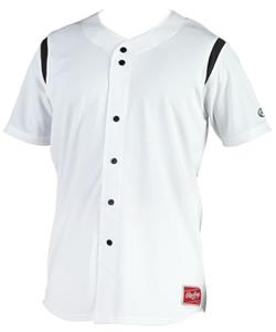 Rawlings Mock Button Baseball Jersey JI21 & YJI21