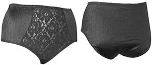 Light Control Lace Front Panty Brief-Closeout