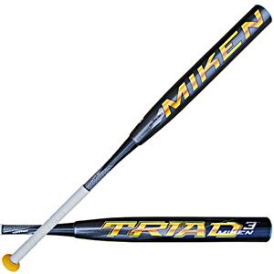 MikenTriad(3) ASA Maxload Slowpitch Bat STRIMA