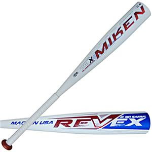Miken Rev-EX Jr. Big Barrel Baseball Bat JREV11
