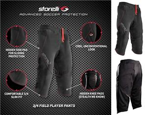 Storelli BodyShield Field Soccer Player 3/4 Pants