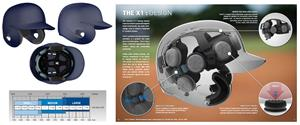 Xenith X1 NOCSAE Baseball Batting Helmets-Closeout