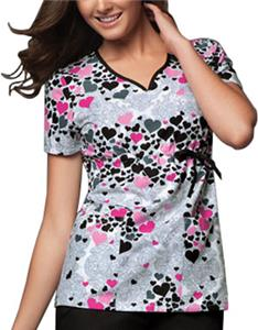 Cherokee Runway Womens V-Neck Scrub Top