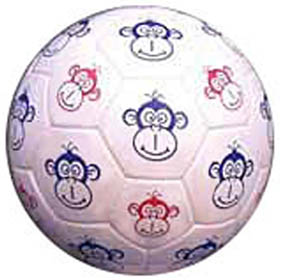 Red Lion Monkey Face Soccer Balls (sizes 3,4,5)