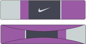 "NIKE 2"" Modern Graphic Headband"