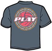 Tandem Sport Practice Around Volleyball T-Shirt