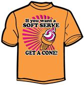 Tandem Sport Soft Serve Volleyball T-Shirt