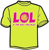 Tandem Sport LOL Volleyball T-Shirt