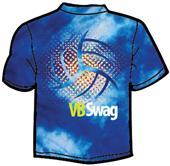 Tandem Sport VB Swag Tie Dye Volleyball T-Shirt