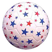 Red Lion Stars Soccer Balls (sizes 3,4,5)
