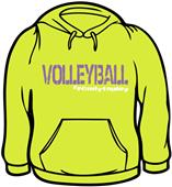 Tandem Sport #Ready to Play Volleyball Sweatshirt