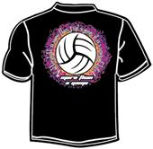 Tandem Sport More than a Game Volleyball T-Shirt