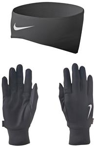 NIKE Dri-Fit Men&#39;s Running Headband/Glove Set