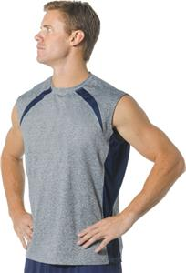 A4 Color Block Performance Muscle T-Shirts