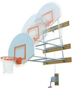 Bison Swing Up Side Court Wall Mount Structure Pkg