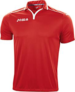 Joma Tek Fluor Soccer Short Sleeve Collar Jersey
