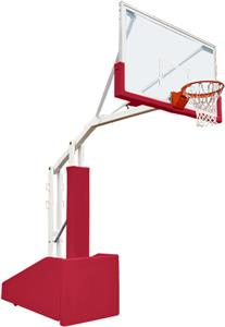 Bison T-Rex 66 Side Court Basketball Systems